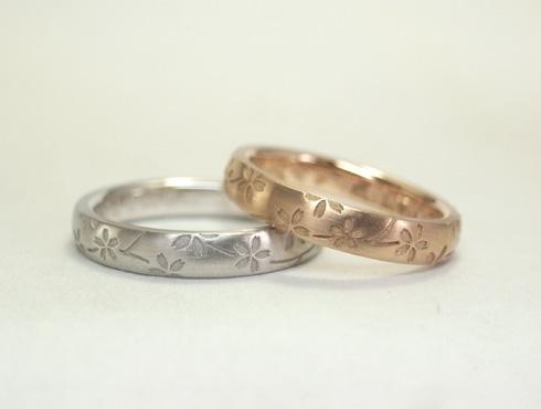 桜の結婚指輪 03