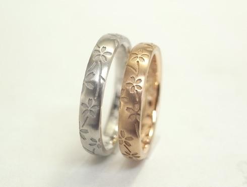 桜の結婚指輪 04