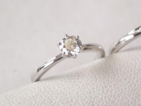 俄の結婚指輪、婚約指輪のサイズ直し 09