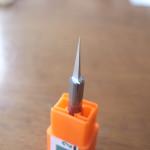 細かい部分を切削する刃(最研磨)