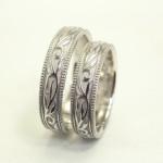唐草(ツタ)の結婚指輪