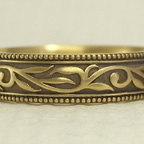唐草模様(蔦、ツタ)の結婚指輪