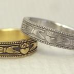 伝統的な指輪のクラダリング(個性的な結婚指輪)