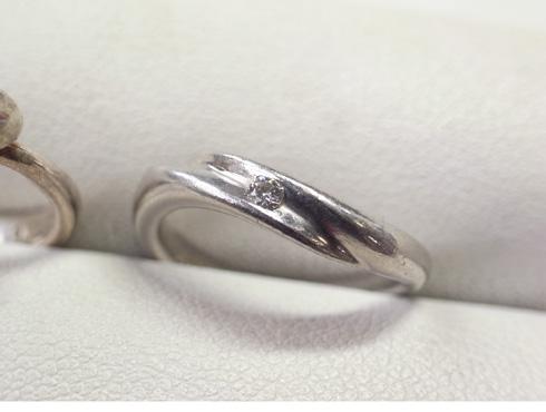 結婚指輪の新品加工 01