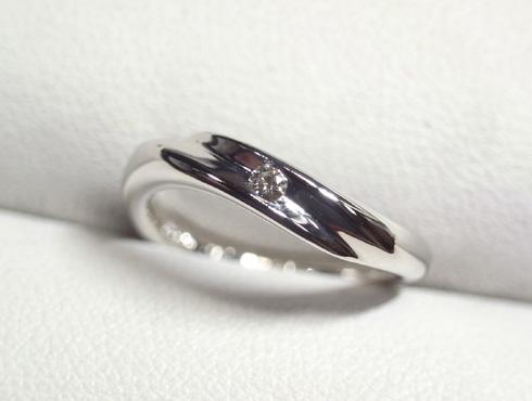 結婚指輪の新品加工 02
