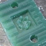 エンゲージの石枠をCADと切削機と手で製作