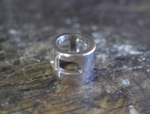 シンプルなダイヤ1粒ペンダント 製作過程 05