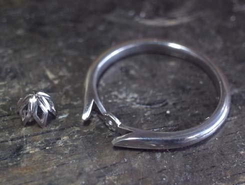 製作中の婚約指輪