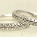 月桂樹の結婚指輪 再製作しました!!
