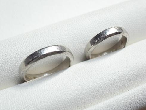 ご両親から引き継いだ 素敵な結婚指輪 01