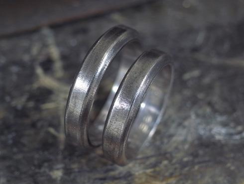 ご両親から引き継いだ 素敵な結婚指輪 06
