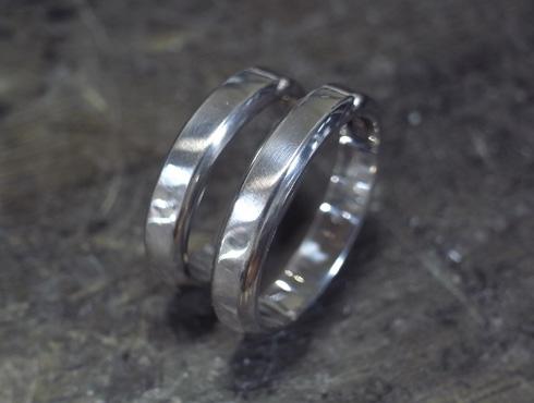 ご両親から引き継いだ 素敵な結婚指輪 07