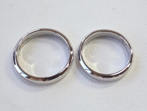 ご両親から引き継いだ 素敵な結婚指輪 11