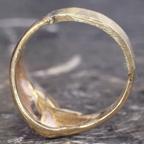 40年前の指輪、細くなった腕を付け替え&サイズ直し