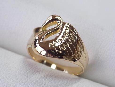 指輪の細くなった腕を修理&サイズ直し 14