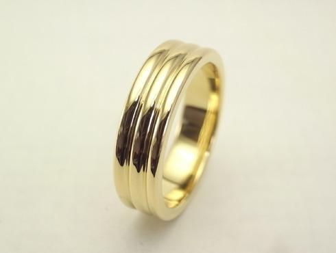 リフォームで製作した18Kゴールドの指輪 03