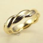 リフォームで新しい18Kゴールドの指輪を製作