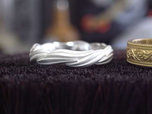 オーダーメイドの結婚指輪 02