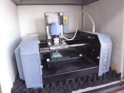 切削機 MDX-15 スピンドルモーターの交換 01