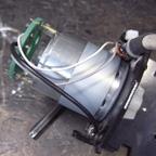 切削機MDX-15のモーター交換