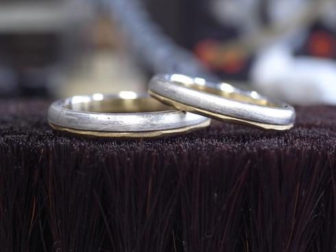 アトリエエッグのオリジナル結婚指輪の製作 03