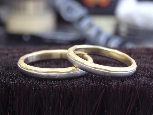 アトリエエッグのオリジナル結婚指輪の製作 06