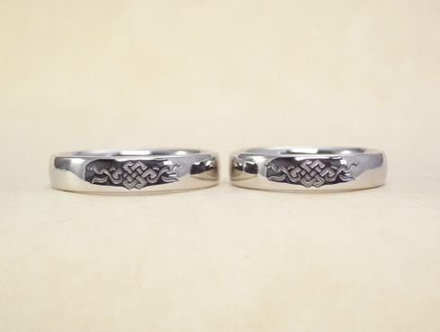 吉祥文様の結婚指輪 01
