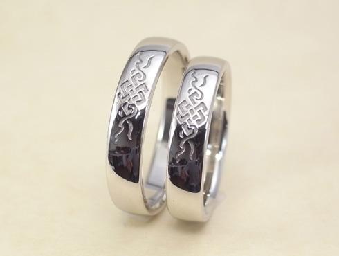 吉祥文様の結婚指輪 03