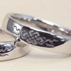 縁起が良い吉祥文様を彫刻した指輪