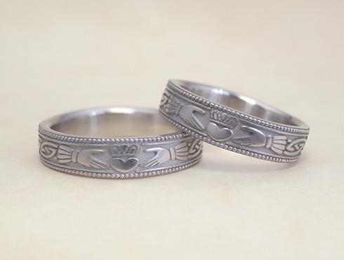 クラダリング claddagh ring 結婚指輪 01