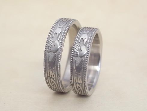 クラダリング claddagh ring 結婚指輪 03
