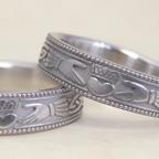 アイルランドの伝統的工芸品の指輪