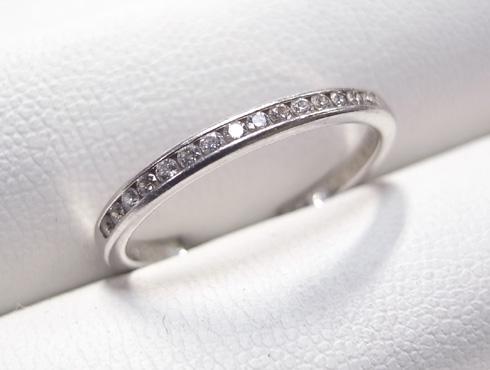 外れなくなったティファニーの結婚指輪の修理 02