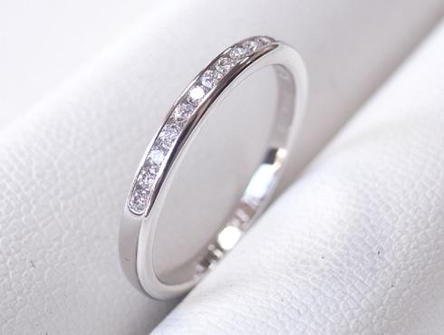 外れなくなったティファニーの結婚指輪の修理 09