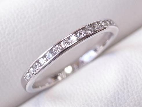 外れなくなったティファニーの結婚指輪の修理 10