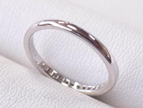 外れなくなったティファニーの結婚指輪の修理 12