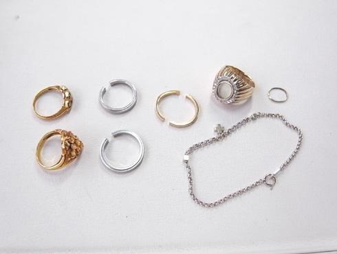 結婚指輪のサイズ直し 修理 ブレスの修理