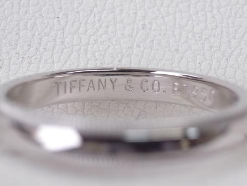 ティファニーのクラシックミルグレイン (結婚指輪)のサイズ直し 18