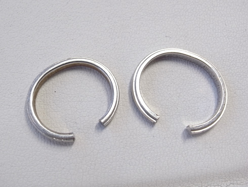ティファニーのクラシックミルグレイン (結婚指輪)のサイズ直し 02