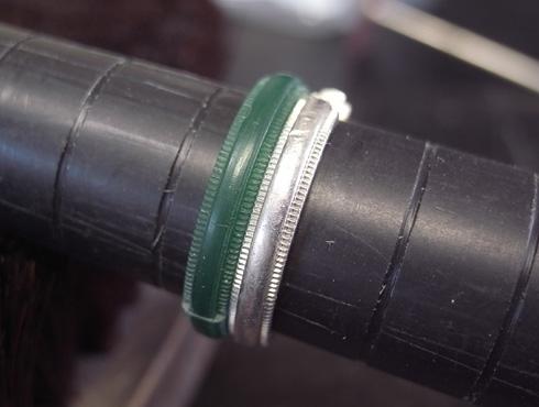 ティファニーのクラシックミルグレイン (結婚指輪)のサイズ直し 05