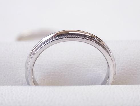 ティファニーのクラシックミルグレイン (結婚指輪)のサイズ直し 15