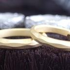 結婚指輪、なんとか間に合いました~!!
