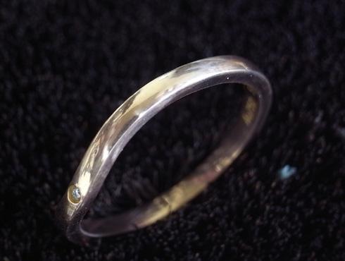 切断されたカルティエ(cartier)の結婚指輪のサイズ直しと修理 18