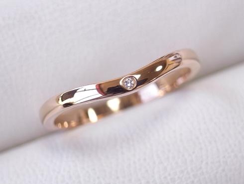 切断されたカルティエ(cartier)の結婚指輪のサイズ直しと修理 20
