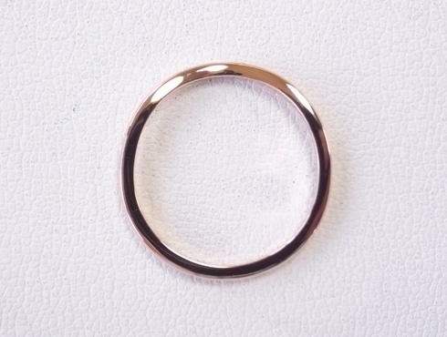 切断されたカルティエ(cartier)の結婚指輪のサイズ直しと修理 21