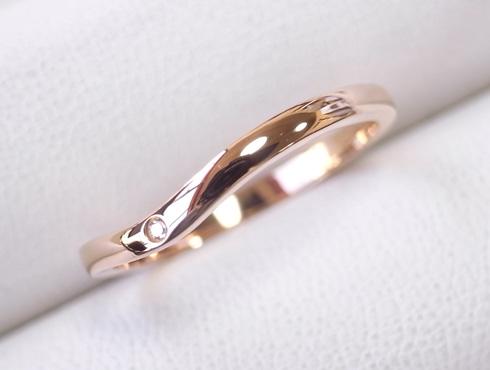 切断されたカルティエ(cartier)の結婚指輪のサイズ直しと修理 22