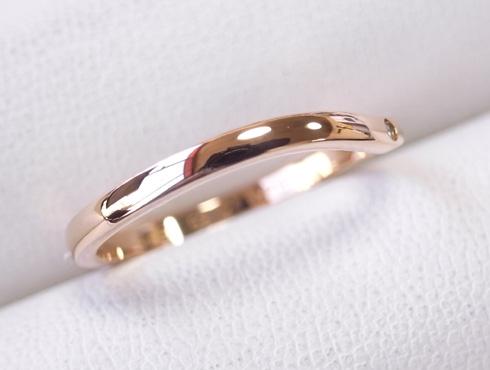 切断されたカルティエ(cartier)の結婚指輪のサイズ直しと修理 23
