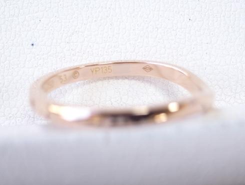切断されたカルティエ(cartier)の結婚指輪のサイズ直しと修理 25 01