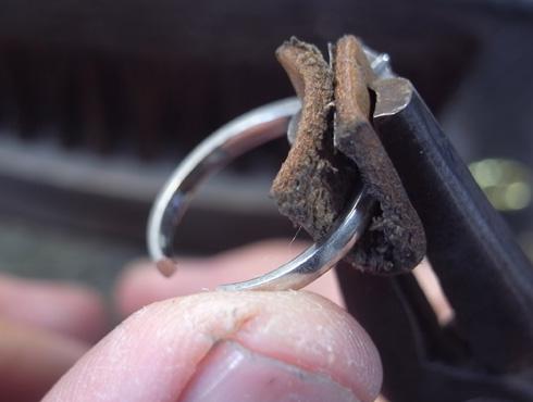 譲り受けた婚約指輪をサイズ直しする 07