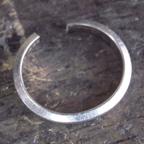 カルティエの結婚指輪 切断後にサイズ伸ばし